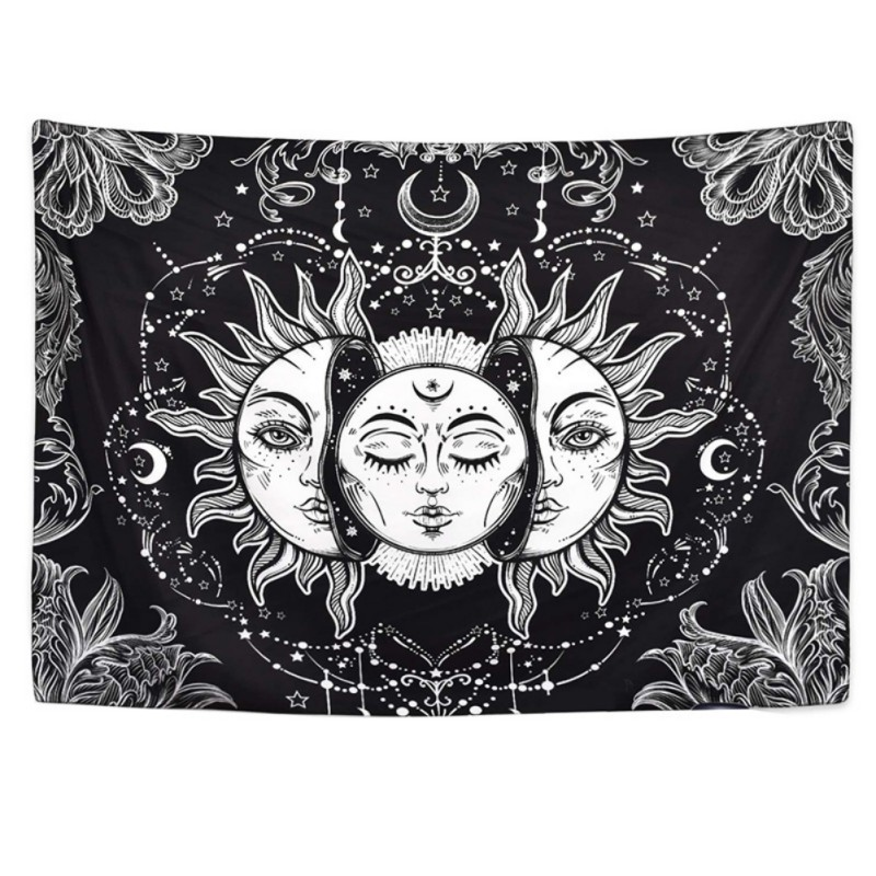 New 1 Piece Of Boho Tapestry Mandala Tapestry, Wall Hangings, Wall Hangings Hippie Tapestry Tapestries Psychedelic Tapestries Outstanding Features