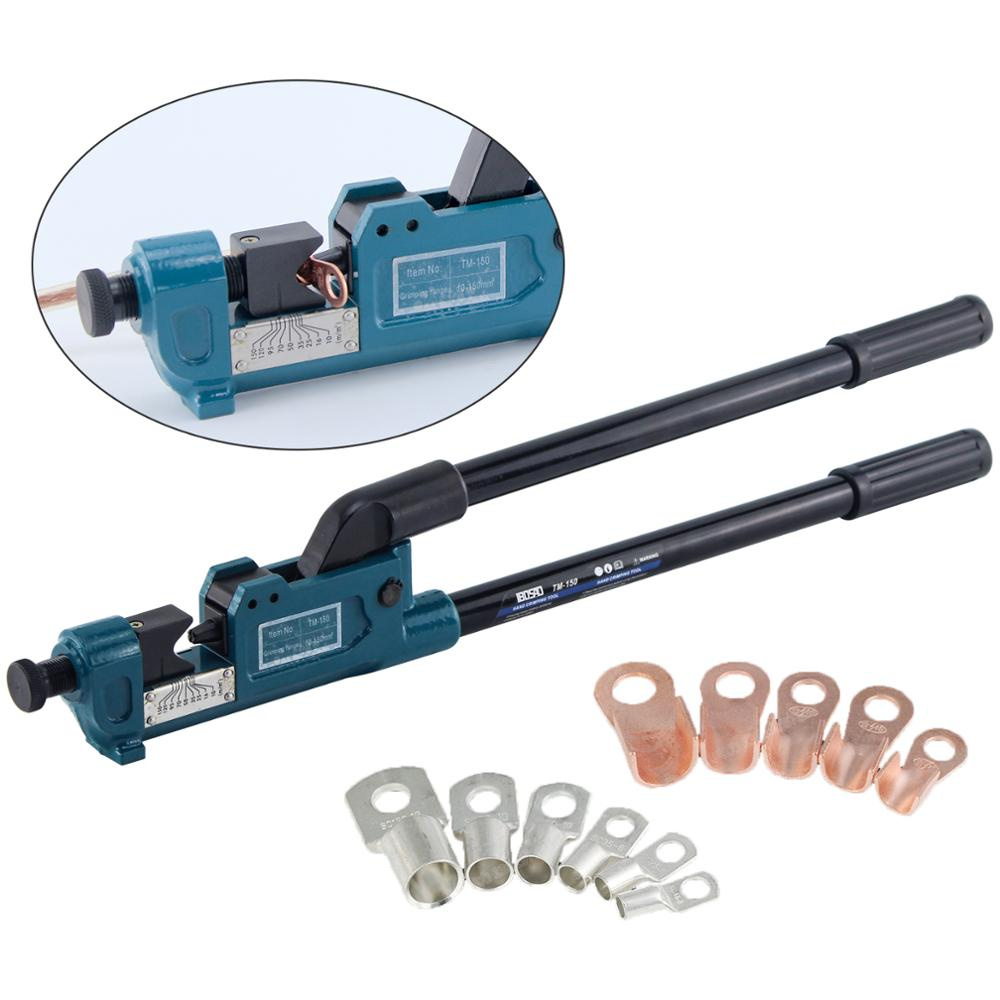 10-120mm HYDRAULIC LUG FERRULE CRIMPING BATTERY WIRE CABLE CRIMPERS TOOL CRIMPER