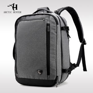 Image 5 - ARCTIC HUNTER Mens business casual backpack large capacity city travel bag multi functional disassembly travel backpack male