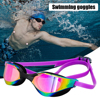 Swimming Glasses Adult Water Sport Eyewear Plating Swim Waterproof Goggles Men Women eyewear swimming goggles
