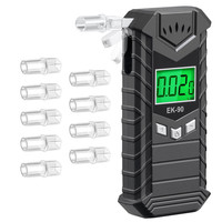 Roadway Safety FDA Approval Rechargeable Digital Alcohol Tester for Car Drivers