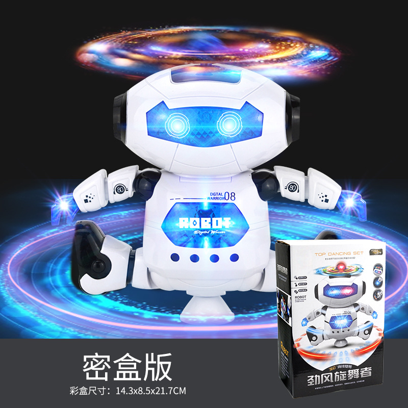 Light And Sound Electric Model Toy Wind Dancer The Dancing Robot Dancer Robot 226