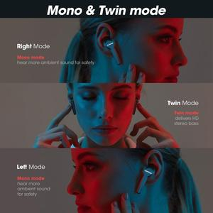 Image 2 - Upgraded Mpow M9 TWS Earbuds True Wireless Bluetooth 5.0 Headphone IPX7 Waterproof Earphone with Charging Case For iPhone 11 XS