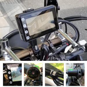 Image 5 - SYS VSYS M2F שדרוג אופנוע DVR WiFi סופר ראיית לילה Sony STARVIS הכפול 1080p עמיד למים אופנוע דאש מצלמה מקליט