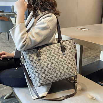 YILIAN Womens Bag 2020 New simple large capacity portable bag versatile fashion Tote one-shoulder cross-body