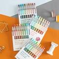 9 farben Morandi Serie Gel Stift Bullet Tip 0,55mm Minen Kreative Farbige Stift für Kinder Malerei Graffiti Kunst Versorgung