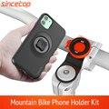 Mountainbike Telefon halter für iPhone 11Pro XS MAX Xr 8 stecker 7 6 fahrrad Halterung Clip drehen Stand kit Mit stoßfest fall