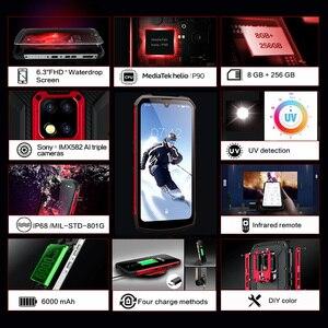 "Image 4 - כיבוש S16 /S16 ATEX IP68 עמיד למים מחוספס חכם נייד טלפון 6.3 ""תצוגת 8GB 256GB 48MP אנדרואיד smartphone טלפון סלולרי"