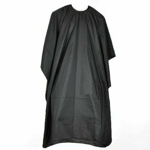 Image 2 - Black Hairdressing Cape Professional Hair Cut Salon Barber Cloth Wrap Protect Gown Apron Waterproof Cutting Gown Hair Cloth Wrap