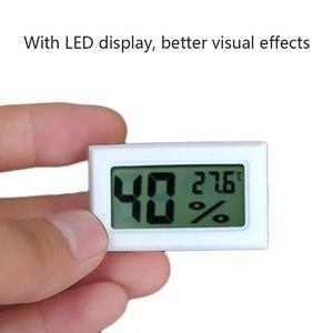 Digital LCD Indoor Convenient Temperature Sensor Humidity Meter Sensor Fridge Thermometer Hygrometer Portable Gauge hot sale