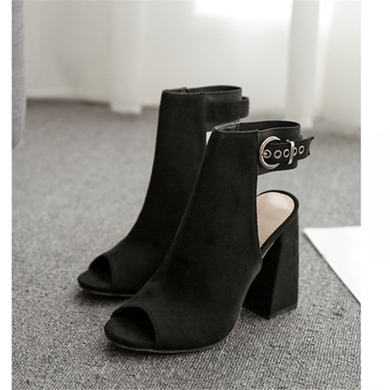 Womens Shoes 2019 Summer Ladies Sandals Fashion Elegant Sexy High Heels Sandals Black