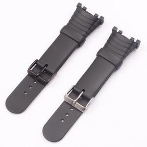 Image 2 - Watch Accessories Rubber Strap For SUUNTO Vector VECTOR Pin Buckle Mens Watch Strap