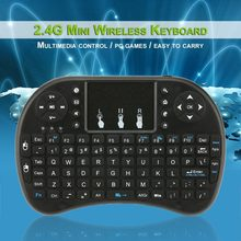 I8 Wireless Mini Keyboard Rusia Spanyol Keyboard + Touchpad Gaming Keyboard untuk Samsung Smart TV Box Laptop PC(China)