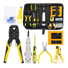 12 Pcs Kit for Network Cable Repairing Testing Phone line RJ