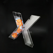 13.8 inches Height Acrylic Fillable Letters Table Decor Hollow Ornaments From A To Z Free Shipping free shipping acrylic clear desk table mini acrylic lucite table