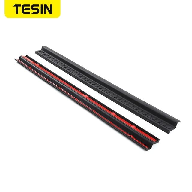 резиновые молдинги для стайлинга tesin накладка на порог автомобиля фотография