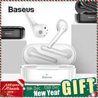 Baseus W07 słuchawki Bluetooth TWS bezprzewodowe słuchawki Bluetooth 3D Stereo sportowe słuchawki bezprzewodowe z podwójnym mikrofonem redukcji szumów