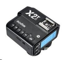 Godox X2-T триггер для вспышки с Беспроводной передатчик TTL 1/8000s HSS Сверло для цифровой зеркальной камеры Canon Nikon Sony Fuji Olympus Pentax