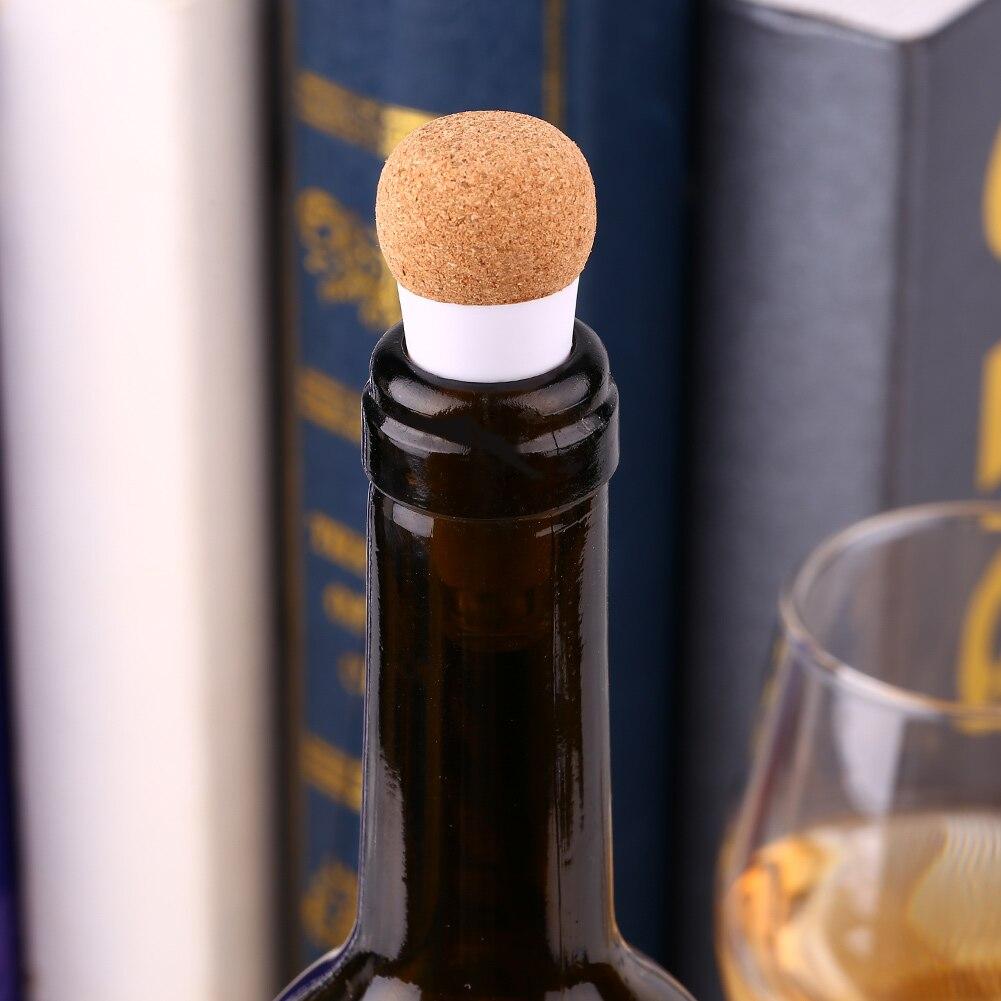 Перезаряжаемая USB круглая пробка Стоп Пробка для винной бутылки светодиодный белый светильник лампа событие