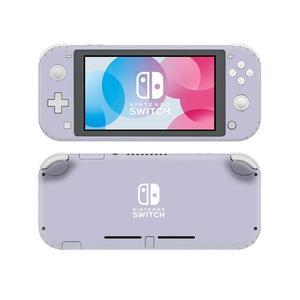 Image 4 - Однотонная розовая наклейка для Nintendo Switch, наклейка для Nintendo Switch Lite, Защитная Наклейка для Nintendo Switch Lite