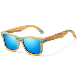 Image 5 - Женские и мужские солнцезащитные очки GM, поляризационные деревянные очки для скейтборда, UV400