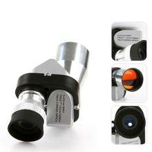 цены 8x20 Mini Aluminum Alloy with Magnifier Microscope 3 in 1 Outdoor Fishing Leisure Telescope  Monocular head Good Quality