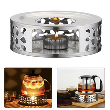 Candle-Holder Warmer Teapot Heating-Base Coffee-Tea Stainless-Steel Durable