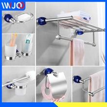 Towel Holder Stainless Steel Towel Rack Hanging Holder Double Towel Bar Ring Toilet Paper Holder Coat Hook Rack Shower Soap Dish цена 2017