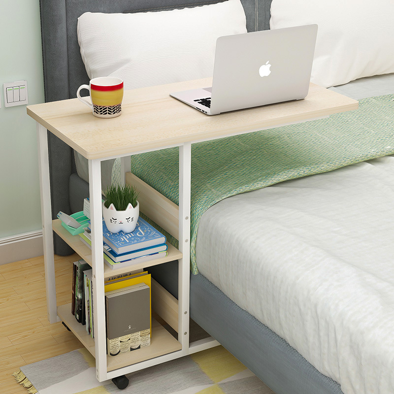 Removable Bedside Table Laptop Computer Lazy Desk Simple Household Student Bed With Bedroom Small Table