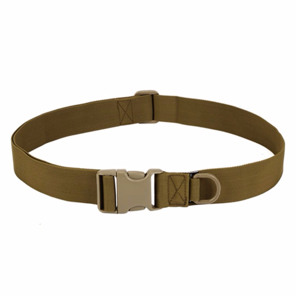 IKSNAIL Men Adjustable Tactical Belt Buckle Tactical Bag Waistband Military Rescue Useful Sport Belt Series In Multiple Pockets