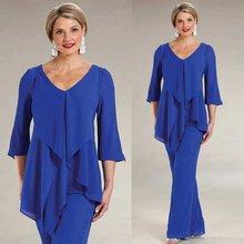 Blue Pant Suits Mother of the Bride Dresses