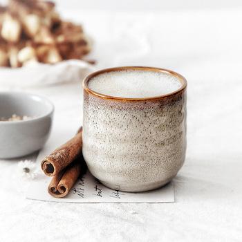 200ml chiński ceramiczny kubek na herbatę Klin szkliwiony 200ml porcelanowa filiżanka ciepła filiżanka prezent filiżanka kawy kubek wody mleka tazas de cafe tanie i dobre opinie OIMG CN (pochodzenie) Porcelany Kubki do herbaty W stylu japońskim Bez elementów Mugs Ekologiczne