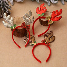 Christmas Headbands Fancy Reindeer Antlers Hairband Xmas Kids Party Decor AU-in Women's Hair Accessories from Apparel Accessories on AliExpress