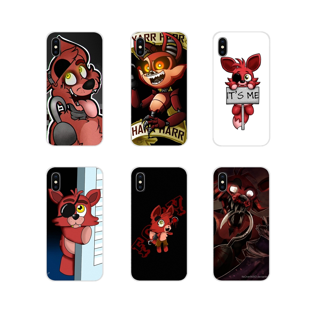 For <font><b>Samsung</b></font> Galaxy S3 S4 S5 Mini S6 S7 Edge S8 S9 S10 Lite Plus <font><b>Note</b></font> 4 5 8 <font><b>9</b></font> Fnaf Plush Foxy <font><b>funny</b></font> Accessories Phone Shell <font><b>Cases</b></font> image