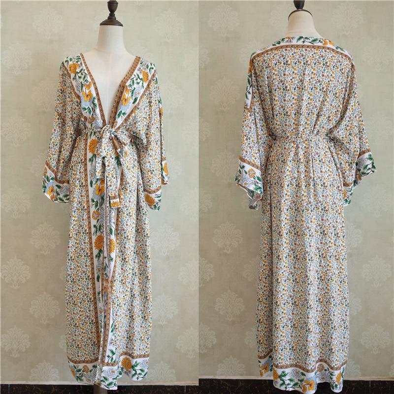 Beach Wear Printed Kimono 4
