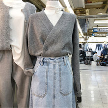 Новинка короткие кардиганы для женщин Осень зима корейский стиль