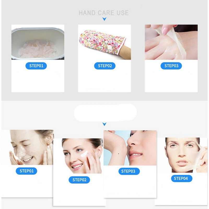 Calentador de cera máquina profesional Mini SPA depiladora pies mano máquina de cera depilatoria corporal depilación granos de cera
