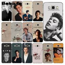 Babaite Kanada Penyanyi Pop Shawn Mendes Phone Case untuk Samsung Galaxy J7 J6 J8 J4 J4Plus J7 Duo J7NEO J2 j7 Perdana(China)