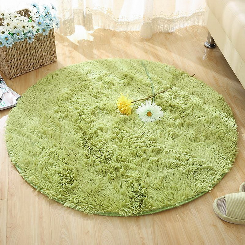 Super Deal 62be Tapis Rond Tapis Moelleux Pour Salon Decor