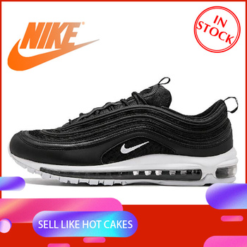 Original Official Nike Air Max 97 Mens Breathable Running Shoes Sports Sneakers Tennis Classic Low-top