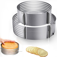 Adjustable Cake Cutter Bread Cake Cutter Mold DIY Cake Decoration Tool Baking Accessories Stainless Steel stainless steel wire cake cutter slicer adjustable diy butter bread divider pastry cake kitchen baking tools