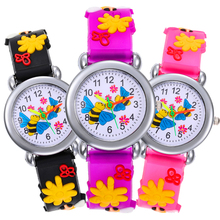 2020 New baby toys gift Cartoon bee Watch Children Gift kids