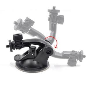Image 2 - Araba vantuz osmo cep baz tutucu uyumlu spor aksiyon kameraları dji osmo cep kamera gimbal aksesuarları