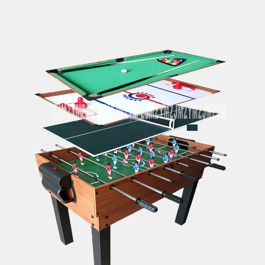 4 In 1 Ice Hockey Table Set Billiard Table/Football Table/Table Tennis Table Indoor Mini Game Play Multifunctional Table