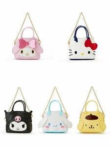 Мультяшный кошелек Hello Kitty My Melody Cinnamoroll pompurin, сумка, кошелек для монет, сумки для карт для женщин, кожаные кошельки, кошелек для девочек