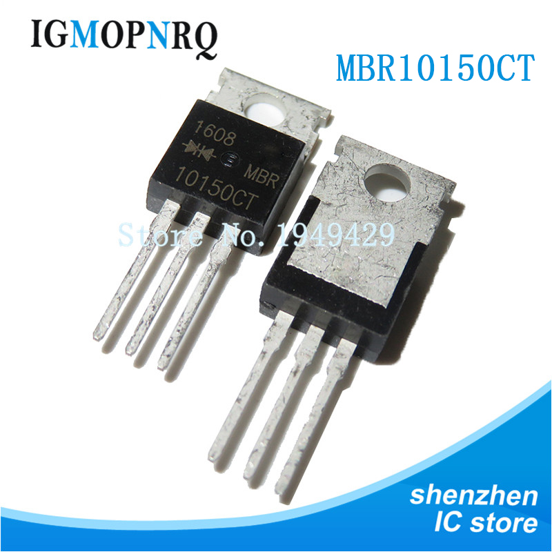 10PCS MBR10150CT TO-200 MBR10150 TO220 1015CT New Original