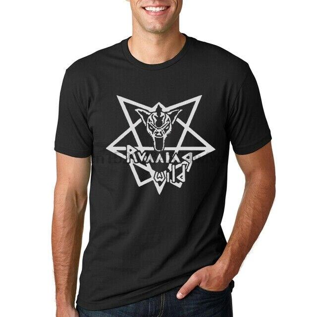Running Wild Tee Heavy Metal Band Rolf Kasparek T-shirt X-Wild New Men/'s Tshirt