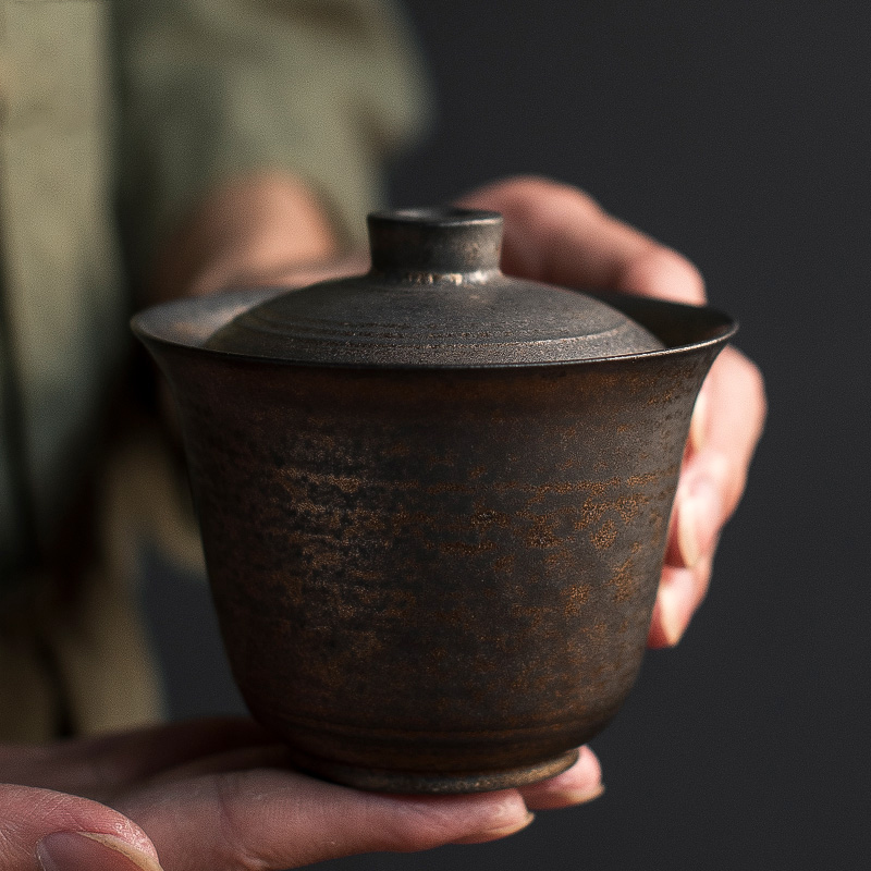 LUWU Ceramic Teapots Gaiwan Chinese Kung Fu Tea Pots Drinkware