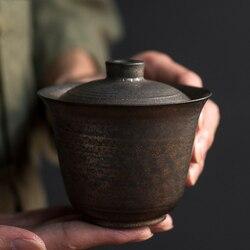LUWU seramik çaydanlık gaiwan çin kung fu çaydanlıklar drinkware