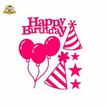 Happy Birthday Dies Cut Metal Cutting Die Bubbles for Scrapbooking New Album Embossing Stencil Card Making